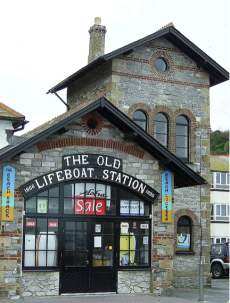 The Old Lifeboat Station at Looe