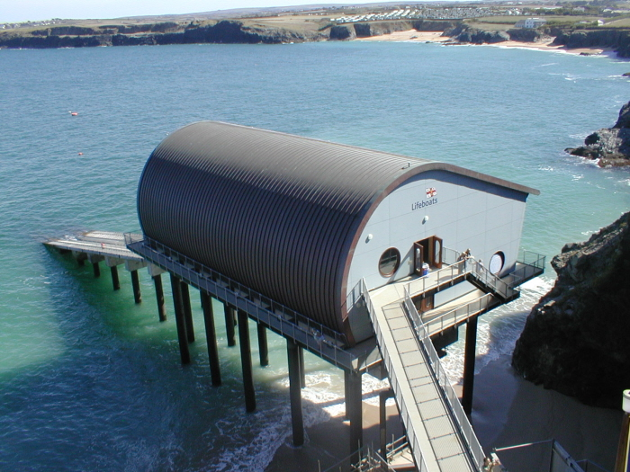 New lifeboat station at Trevose Head, Padstow completed in 2006