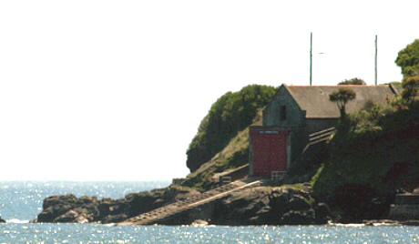 The old lifeboat station at Penlee Point