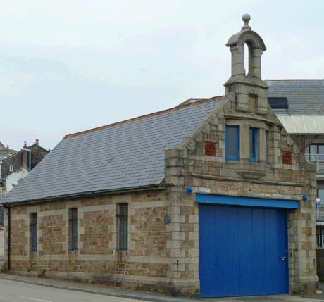 Penzance Lifeboat House from 1885 to 1917