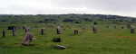 Image of one of the Hurlers Stone Circles