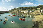 Picture of Mousehole harbour courtesy of Penwith District Council